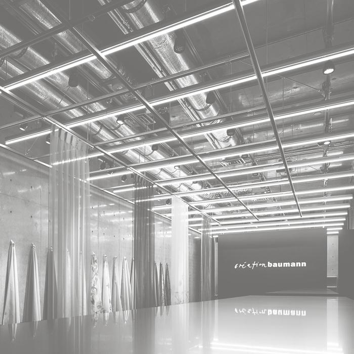 création baumann TOKYO Showroom